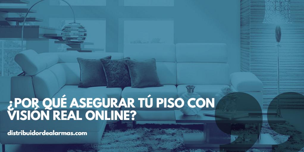 ¿Por qué asegurar tú piso con visión real online?