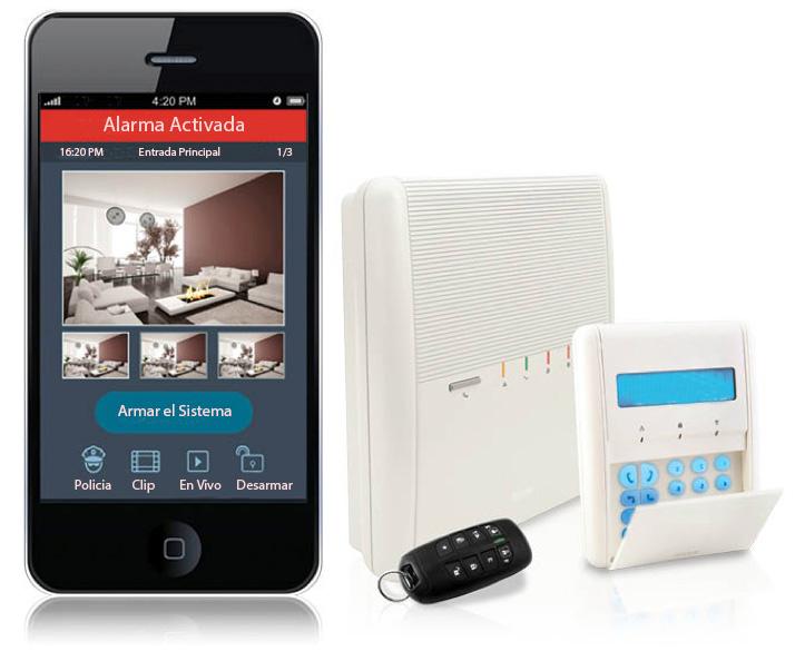 Elementos de los sistemas de alarmas de seguridad: alarmas sin cable