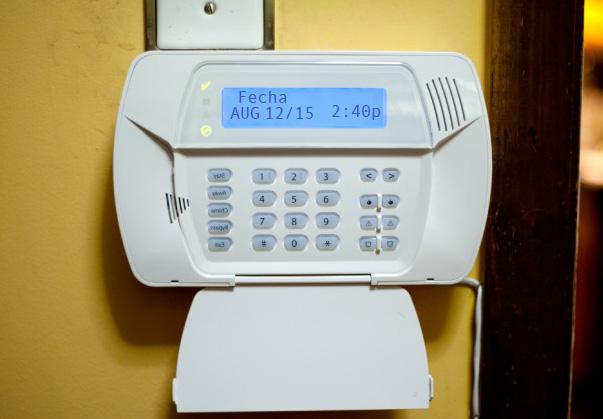 Instale alarmas en su hogar y mantenga la estética